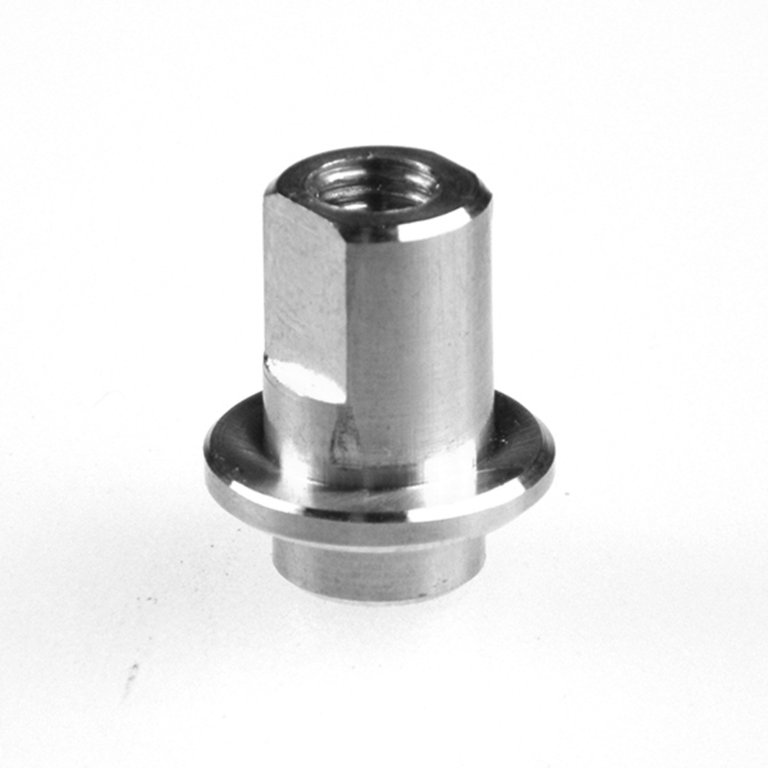 Connectors gl threaded scrubbers stainless steel mm