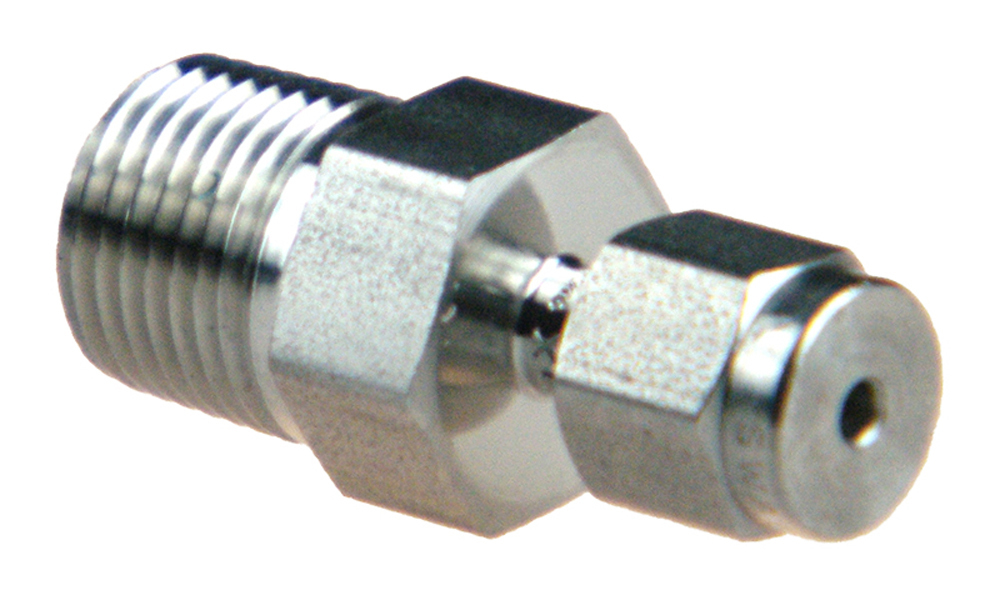 SWAGELOK SS-500-1-2 Male Connector Male NPT Tube OD X 1//8 in 5//16 in