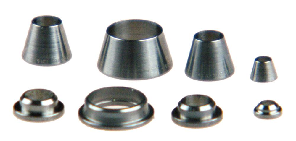 Ferrule back swagelok stainless steel inch ss